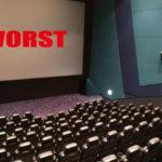 映画大好き。ラジー賞でも楽しめる私が苦痛を感じた映画ワースト5。